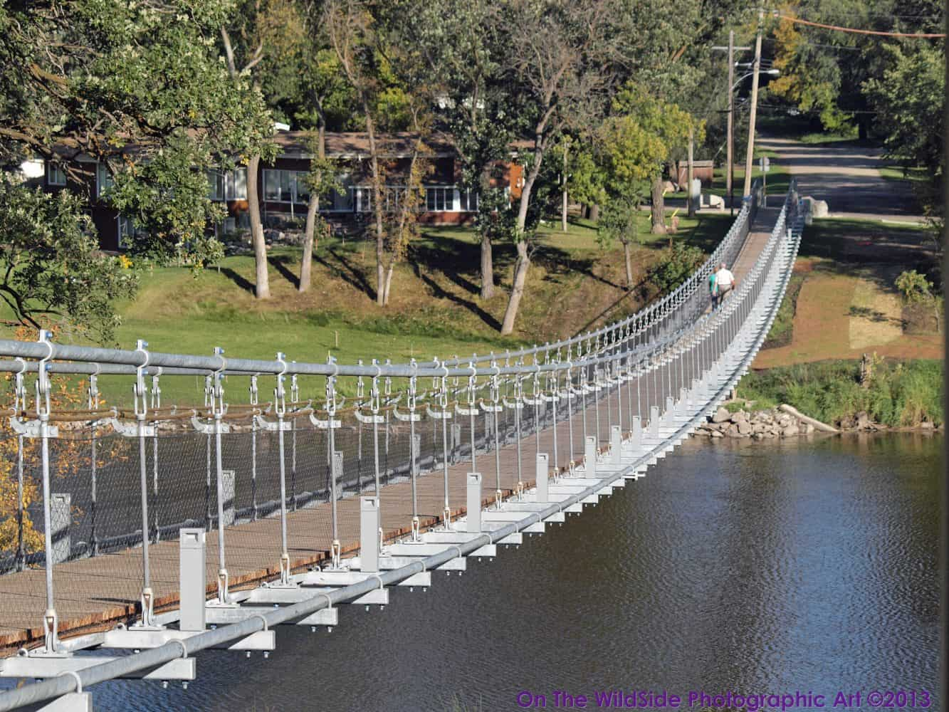 Swinging bridge plan