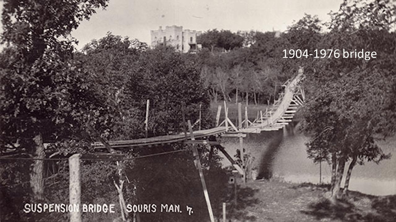 Souris Swinging Bridge - Travel Manitoba, Canada