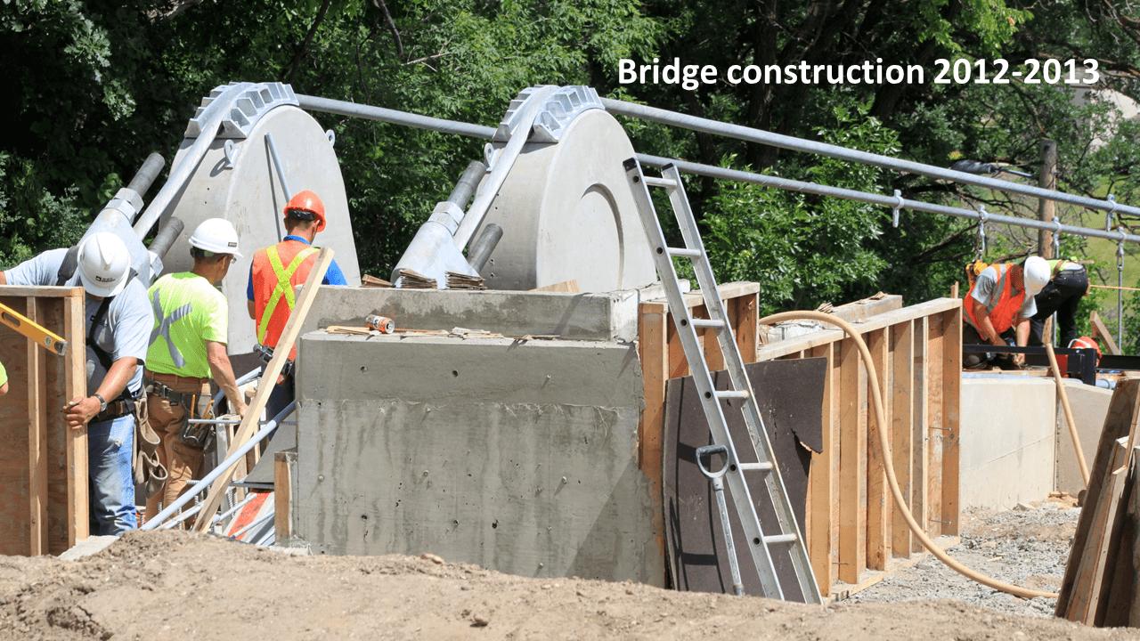Souris Swinging Bridge Souris Manitoba