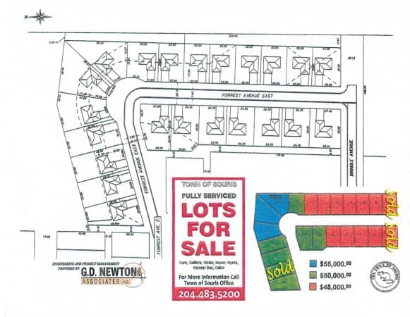 Town Lots for Sale