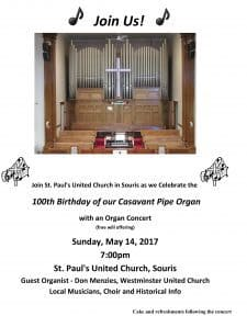 St. Paul's United Church Organ Celebration