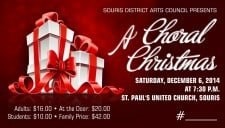 A Choral Christmas @ St. Paul's United Church | Souris | Manitoba | Canada