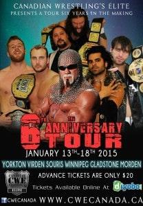 """CWE Wrestling ft. """"Big Poppa Pump"""" Scott Steiner @ Souris & Glenwood Memorial Complex"""