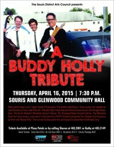 A Buddy Holly Tribute @ Souris and Glenwood Community Hall
