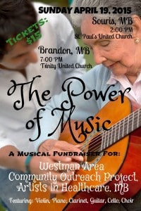 The Power of Music -- Final Concert-Fundraiser! @ St. Paul's United Church | Souris | Manitoba | Canada