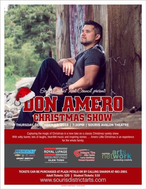 Don Amero Christmas Show @ Avalon Theatre | Souris | Manitoba | Canada