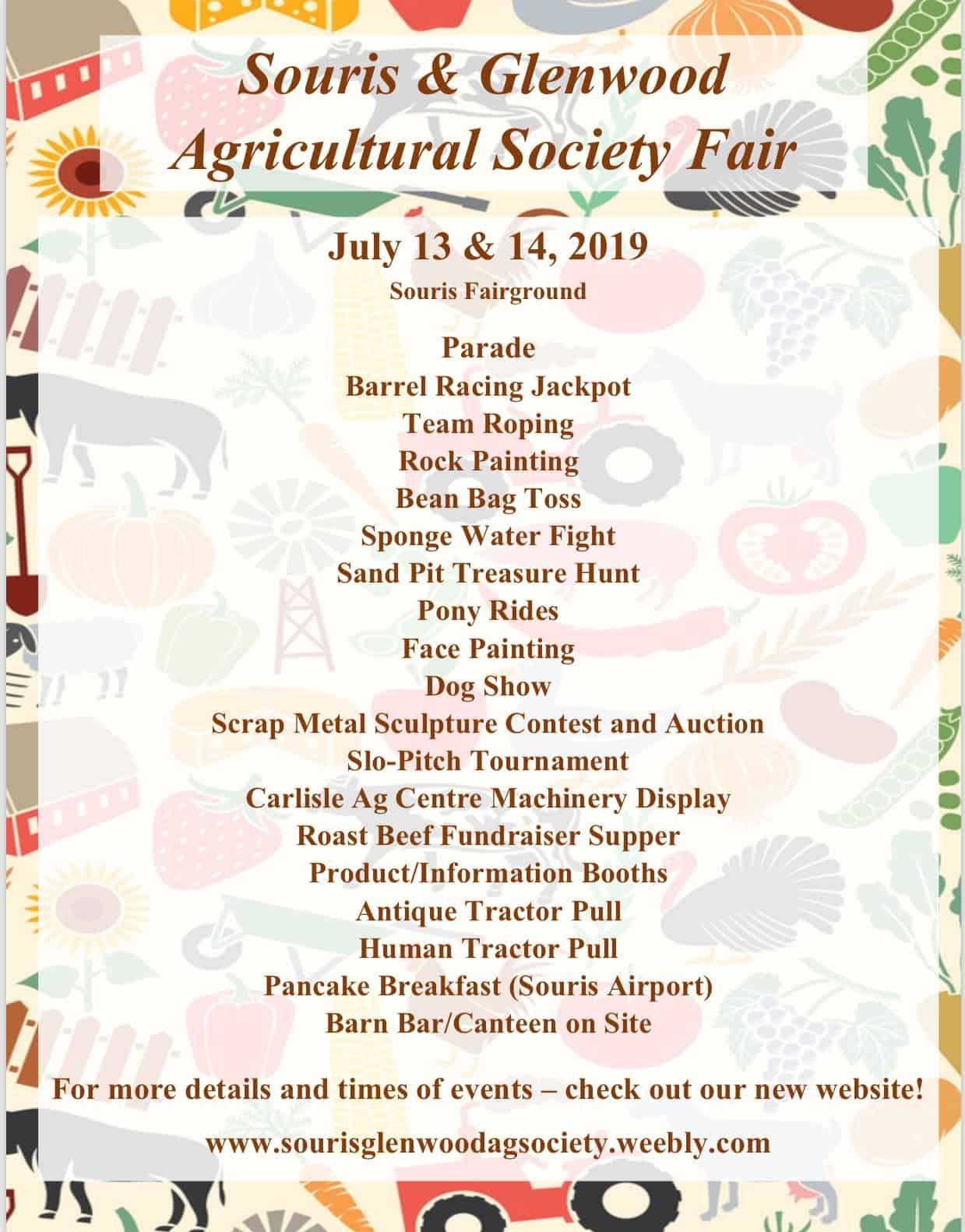 Souris & Glenwood Agricultural Society Fair @ Souris Fairgrounds