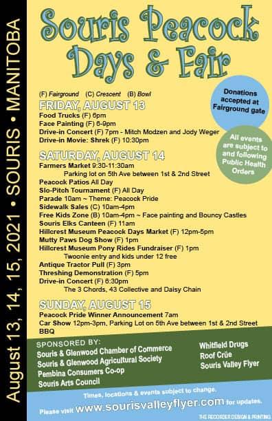Agricultural Fair August 14-15 @ Fair Ground Souris, Manitoba